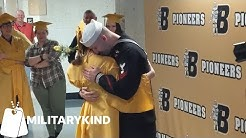 Navy brother surprises sister at graduation | Militarykind
