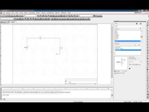 Cadence OrCAD's Capture and PSpice simulation Install tutorial