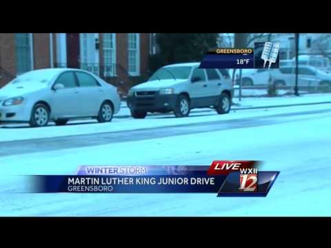 Winter Weather Conditions In Greensboro