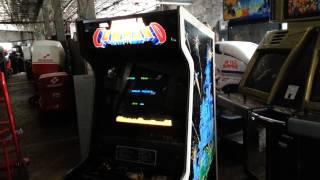 Sega Missile Command arcade machine