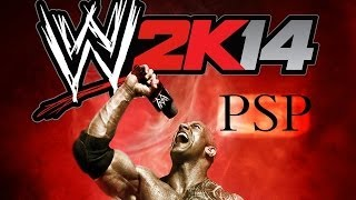 WWE 2K14 PSP HD Gameplay [MOD]