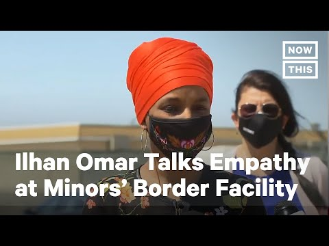 Rep. Ilhan Omar Speaks at Border Facility For Minors