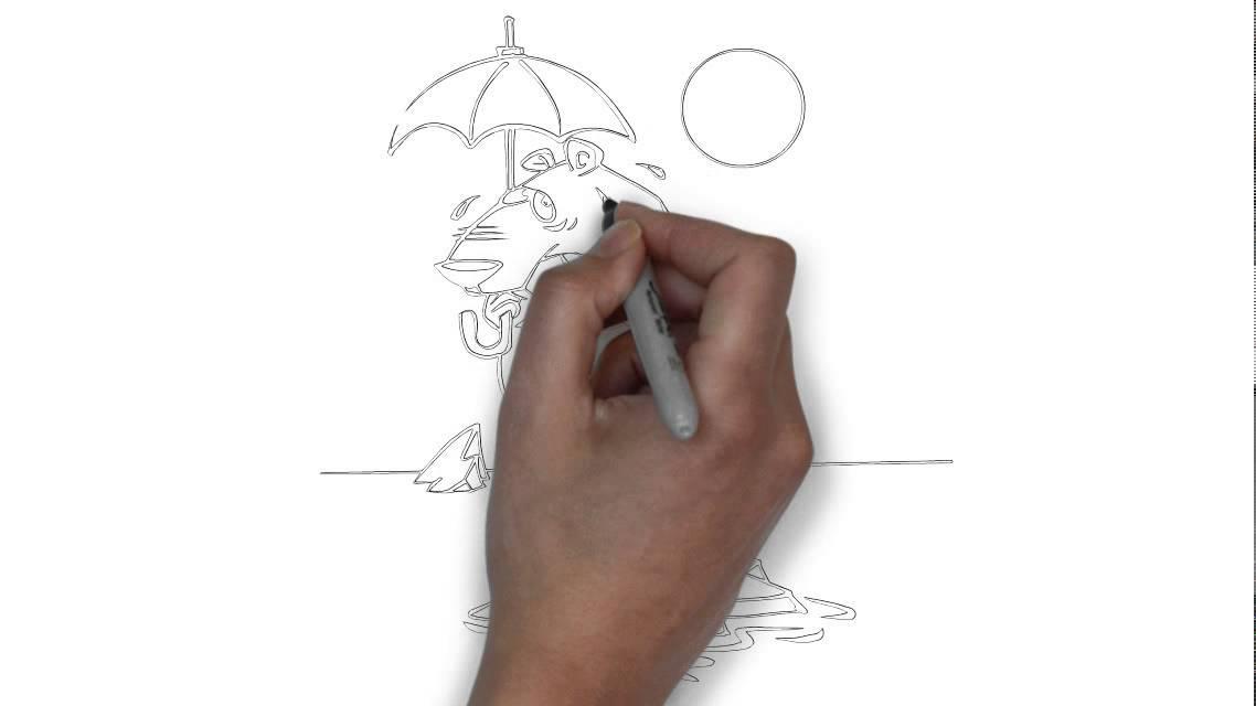 Come disegnare un orso polare passo dopo passo