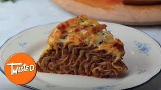 Video How To Make A Giant Spiral Lasagna   Twisted download MP3, 3GP, MP4, WEBM, AVI, FLV Juli 2018