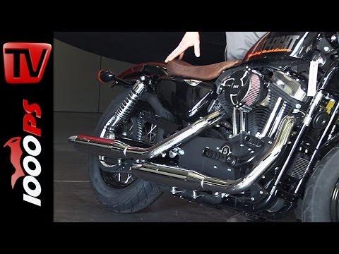 Sebring Ausfpuffanlage + Soundcheck | Harley-Davidson Sportster