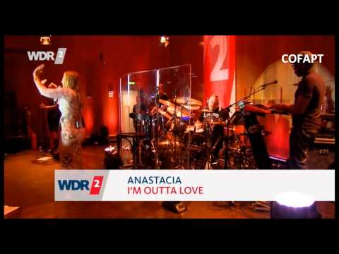 Anastacia - Performing live for WDR2 radio in Cologne, Germany 15072014