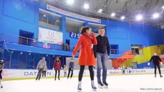 Покатушки  Арена Север после ледовый флэшмоб Наша Зима посвященный универсиада 2019