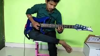 Tere liye on Guitar| Veer zaara | shahrukh khan