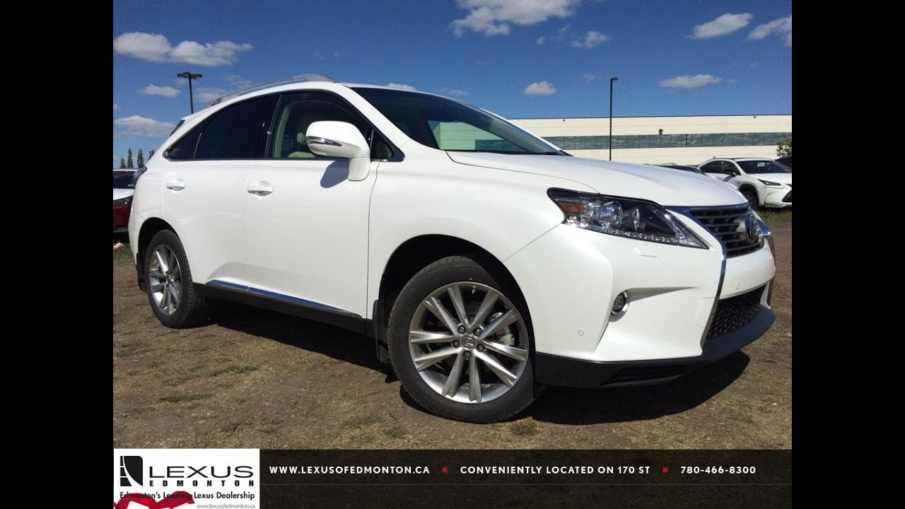 lexus certified pre owned white 2015 rx 350 awd sportdesign touring package review hinton. Black Bedroom Furniture Sets. Home Design Ideas