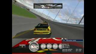 NASCAR Racing 2002 Gameplay- Crazy Final Laps At Daytona