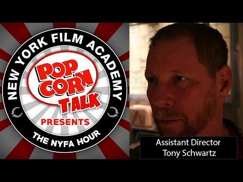 Tony Schwartz and Perfecting Assistant Director | NYFA Hour Episode 35