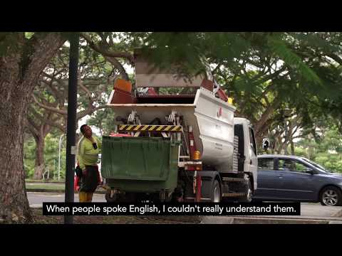 Who Cleans Our Singapore? - A Day in the Life of Park Cleaners