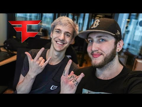 NINJA'S FIRST VLOG (My New Fortnite Pro Team)