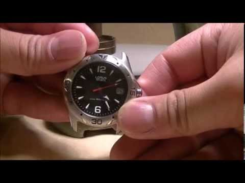 Change A Battery On A Lorus Watch From Ayoswayches Youtube