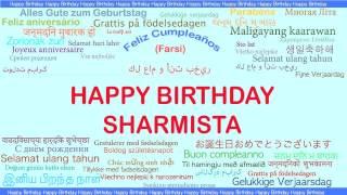 Sharmista   Languages Idiomas - Happy Birthday