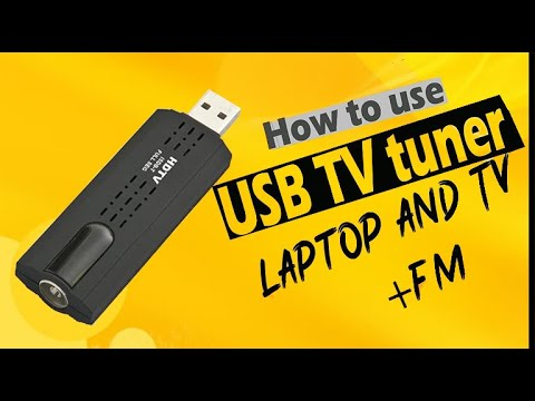 How To Use Usb Tv Tuner | Usb Tv Stick | Usb Tv | Usb Tvcard | 2019