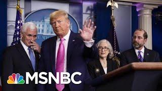 Trump Addresses Coronavirus Surrounded By Public Health Experts. | Morning Joe | MSNBC