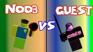Noob VS Guest