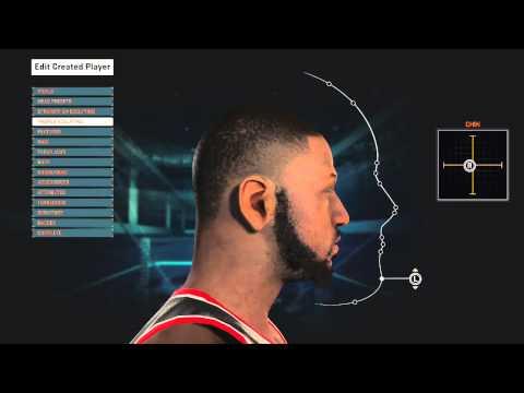 NBA 2K15 HOW TO MAKE DWYANE WADE