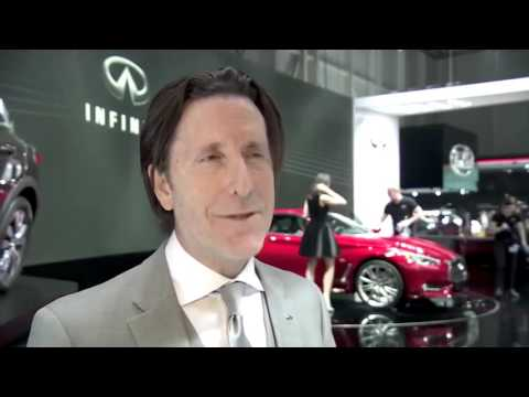 Infiniti Interview Alfonso Albaisa Executive Desing Director at 2016 Geneva  | AutoMotoTV