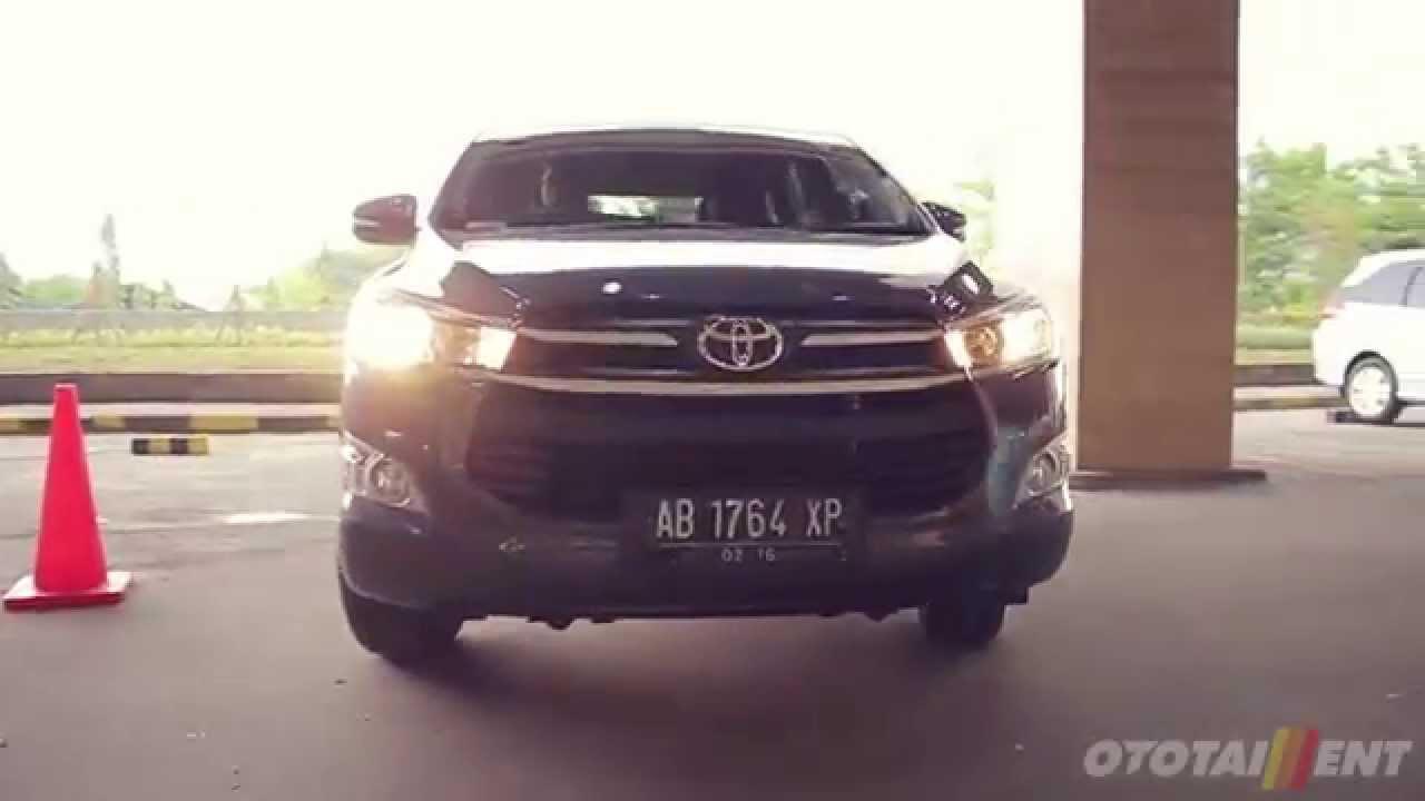 All New Kijang Innova 2.4 G At Diesel Lampu Belakang Toyota Test Drive First Impression Youtube