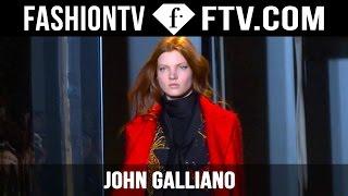 John Galliano Fall/Winter 2015 First Look   Paris Fashion Week PFW   FashionTV