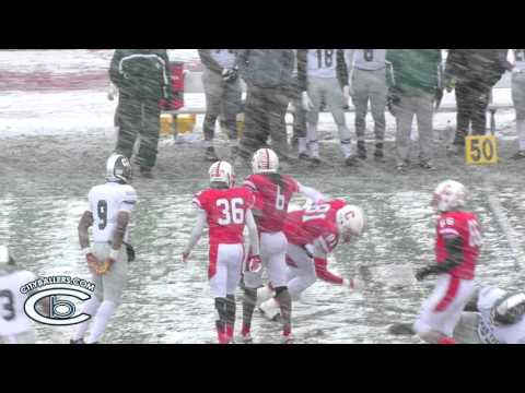 MHSAA 2015 - PLAYOFFS Detroit Cass Tech vs Canton High
