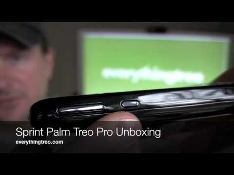 Sprint Treo Pro Unboxing