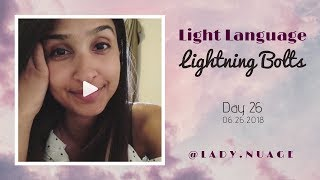 Light Language - Lady Nuage - Lightning Bolt #26