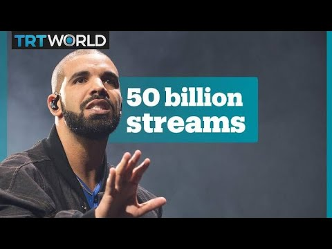 Drake becomes the first artist to pass 50 billion streams Mp3