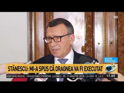 Stănescu, despre cum urma Dragnea să fie executat