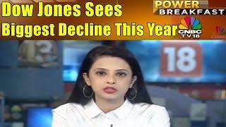 Dow Jones Sees Biggest Decline This Year   30th Jan   Power Breakfast   CNBC TV18