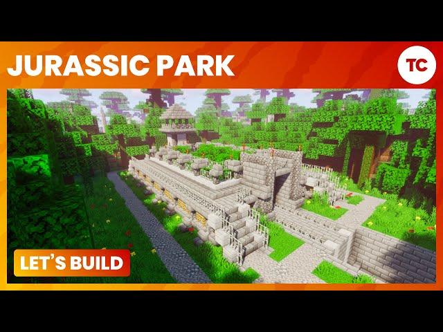 Let's Build Jurassic Park! - Ep 2 Velociraptor Hatchery - Minecraft PC
