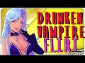 [ASMR] Drunken Vampire Flirt [Ear to Ear] [Mistress] [Voice Acting] [Italian Accent]
