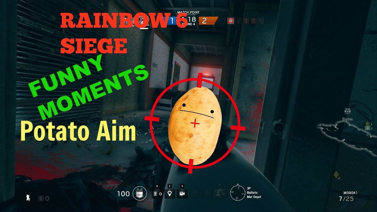 how to get better aim in rainbow six siege