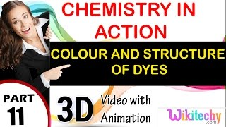 colour and structure of dyes chemistry in action class 12 chemistry subject notes cbse