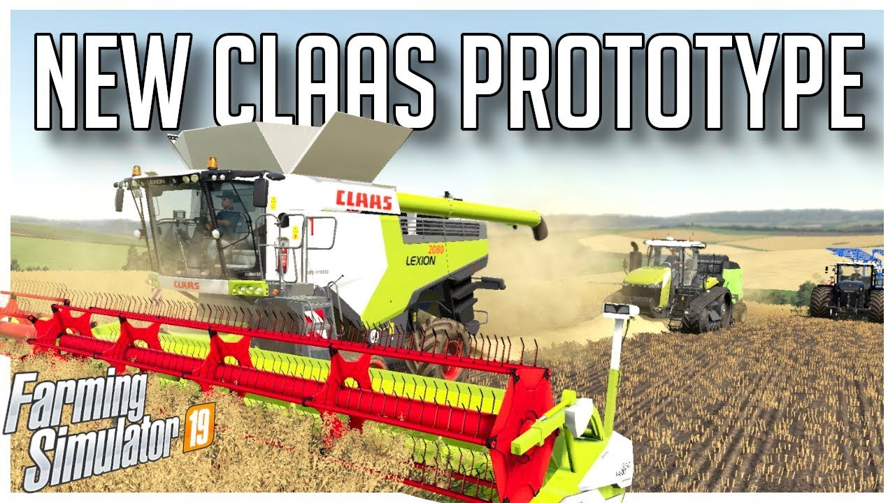WE GOT A PROTOTYPE CLAAS HARVESTER | OAKFIELD FARM | FARMING SIMULATOR 19
