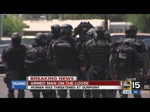 5 Chandler schools off lockdown, suspect wanted