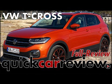 VW T-Cross Full Review of the new small Volkswagen SUV | 2019 | Test | Drive | tcross | English