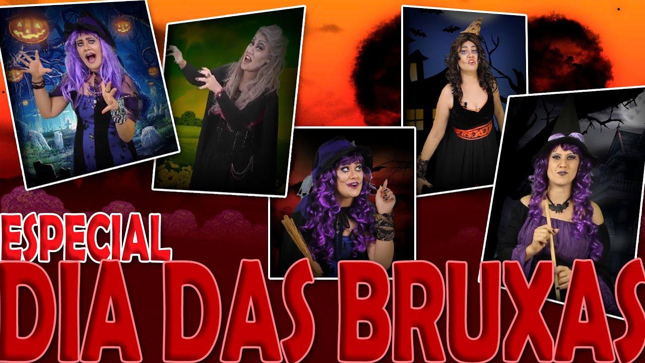 #TBT - Especial Dia das Bruxas - Halloween- Historinhas para Acordar