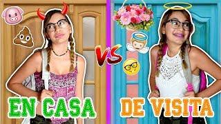 EN TU CASA v.s EN CASA AJENA 💖 Lulu99 thumbnail