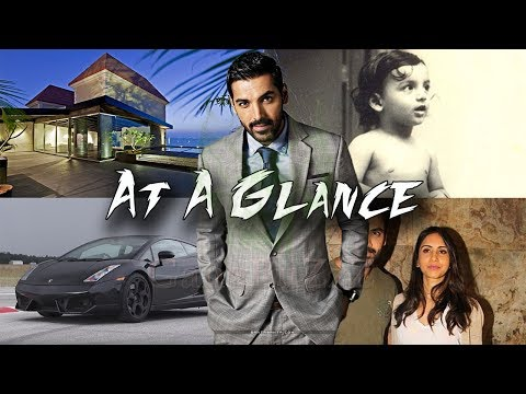 John Abraham 👓 At A Glance 👓 Biography | Lifestyle | Family