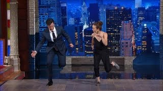 Stephen Gets A Tap Dance Lesson