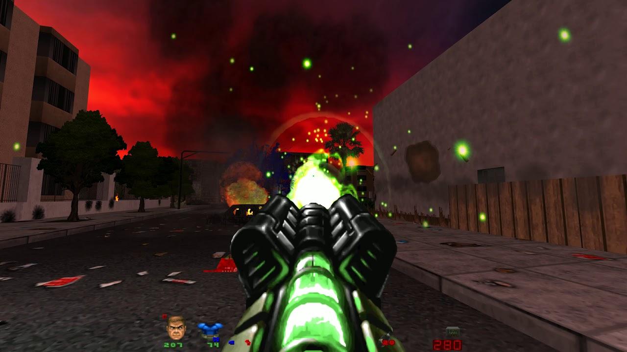 Brutal Doom v21: EDAY17 Twisted Neighborhood - UHD 4K All Secrets by pagb666