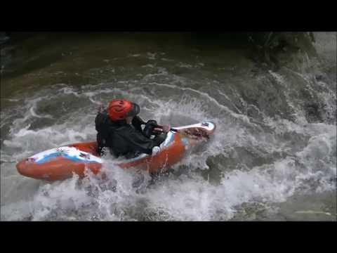 Kayaking Brush Creek in California