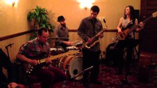 The Fever's 4pc funk jazz ensemble at BIFF