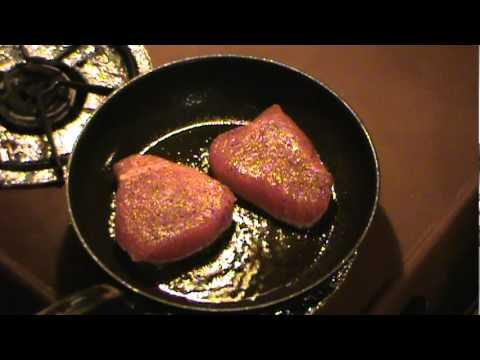 Pan Seared Tuna Steaks (IQF Grade)