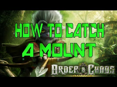 Order & Chaos Online // How To Catch A Mount ?