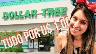 TOUR PELA DOLLAR TREE - TUDO POR 1 DÓLAR