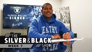Darren Waller Signs Contract Extension & Coach Gruden Analyzes Packers' Offense | Raiders